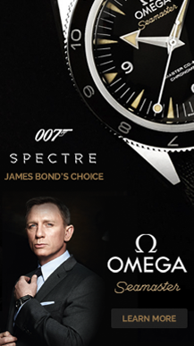 James Bond – Full Page Takeover