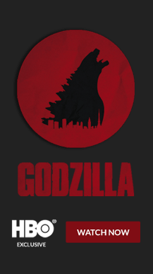 Godzilla – Full Page Takeover