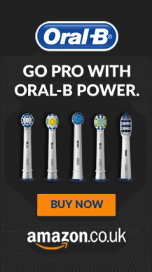 Oral B – Full Page Takeover