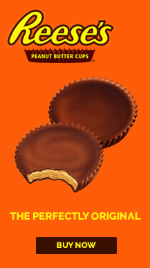 Reese's Peanut Butter Cup – Full Page Takeover