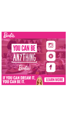Barbie – Full Page Takeover
