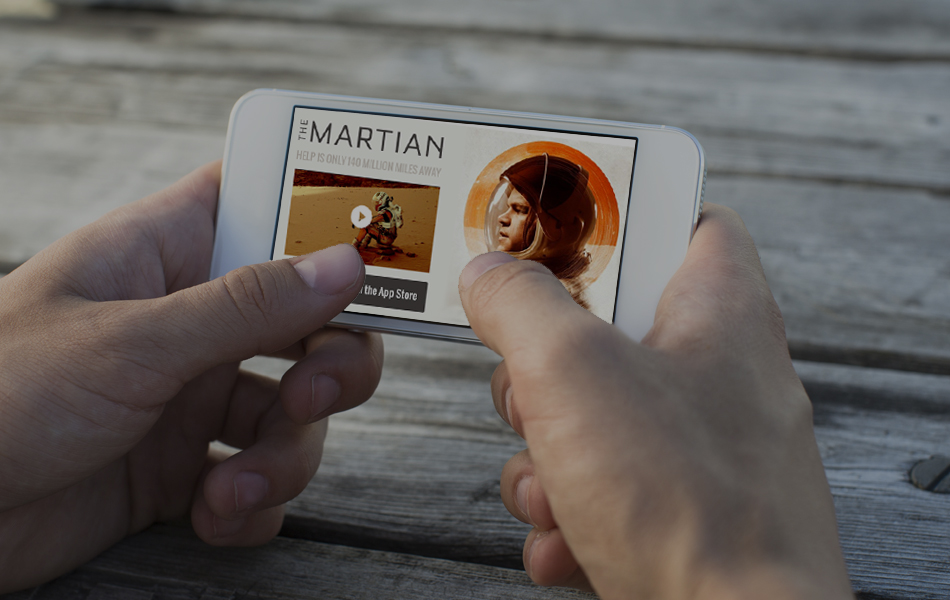 Interactive Mobile Video Dynamic End Cards